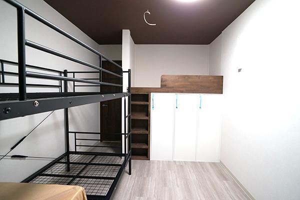 第一寮部屋(ブラウンタイプ)